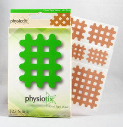 Physiotix Wave Cross-Physiotape Mix Box 102 Cross Tape...