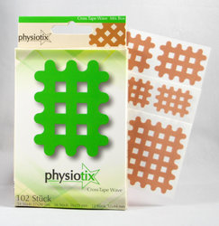 Physiotix Gitterpflaster Cross Tape Crosstape Wave Mix...